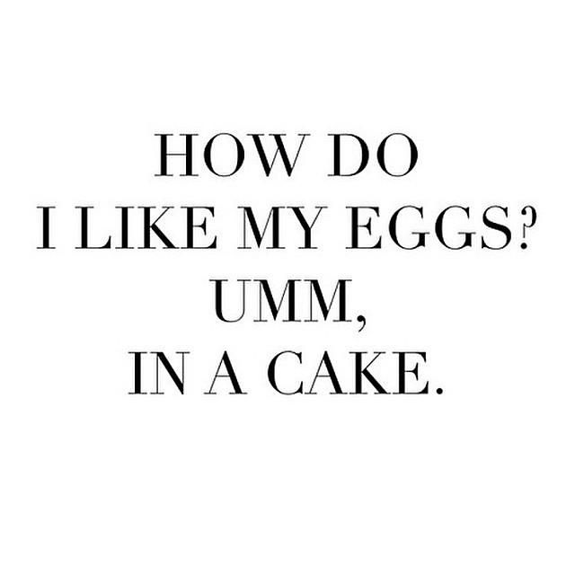 Let's be honest. I really really don't like eggs. And the only way I ENJOY eggs is when they are deeply disguised in something else delicious.