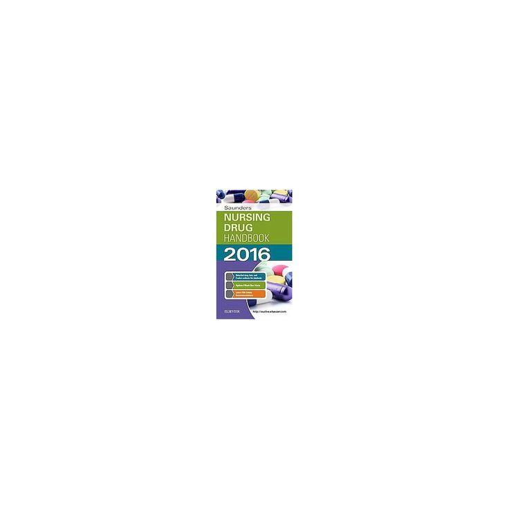 Saunders Nursing Drug Handbook 2016 (Paperback) (Robert J. Kizior)