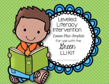 This lesson plan template coordinates with the Green Leveled Literacy Intervention Kit. The template includes the 4 areas for successful lesson planning: Standards, Objectives, Procedure, and Assessment. The Common Core standards and objectives have already been filled in to make lesson planning a snap!As a thank you bonus, a small group attendance record sheet is included!