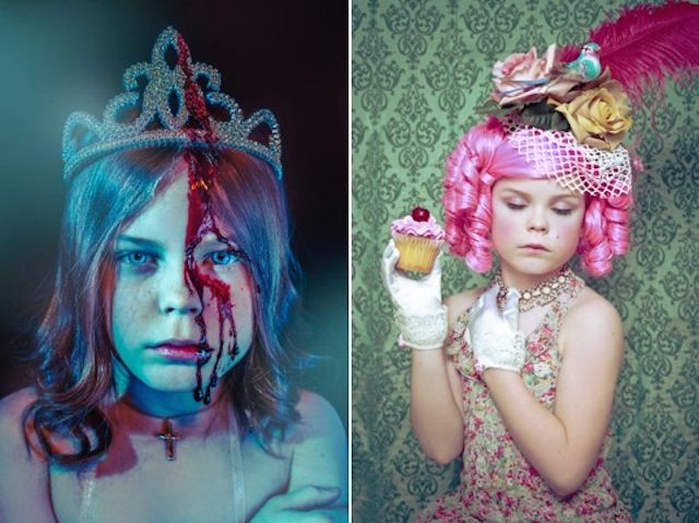 Mum Photographer Turns Her Daughter into Iconic Characters