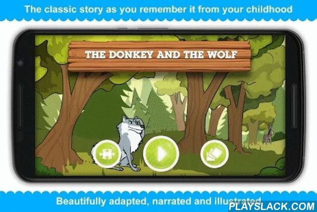 The Donkey And The Wolf  Android App - playslack.com ,  The Donkey and the Wolf is professionally narrated fairy tale that gives you 100% as-in-book experience, specially designed to challenge children to think creatively, use their imagination and motivate them to find and appreciate the moral of the story.An amusing illustrated fable for children, who love humorous fables with animals. Read about the wolf, who wanted to eat a donkey, but forgot something important.Features:- Over 200 000…