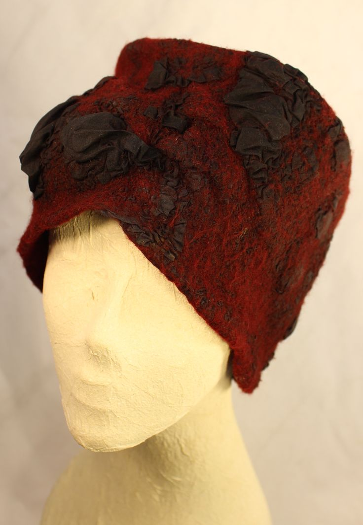 Nuno felted hat