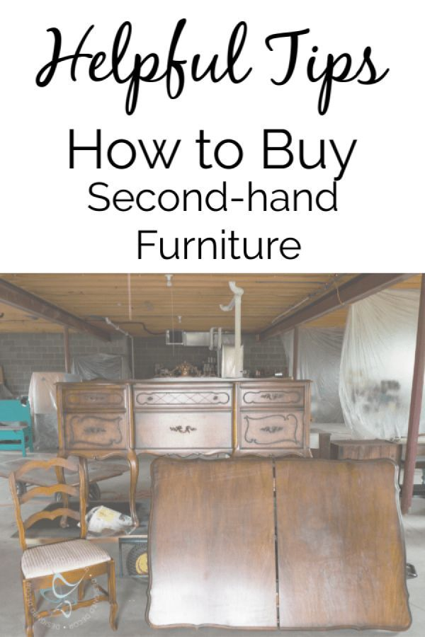 Helpful tips to easily buy second hand furniture like a - Buy second hand furniture ...
