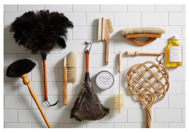 Beautiful Layout Of Old Cleaning Products Tools Home