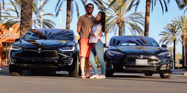 Chad and Min Hurin are Tesla fanatics, but a $90,000 car was out of their price range. They pay for the car by renting it out, and see the high mileage as a...