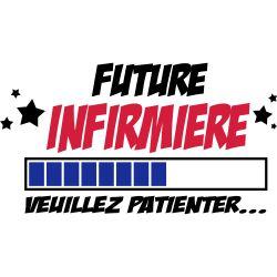 T-Shirt dessin   future infirmière