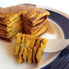 Pancakes de auyama, ricos como los de 'verdad'   Gastroglam