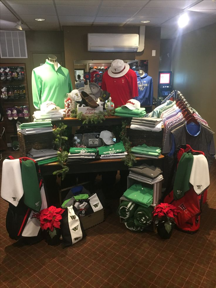 Pro Shop Display @ Westchester Hills Golf Club