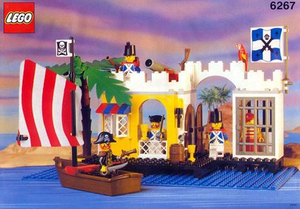 LEGO Pirate - Lagoon Lock-Up, 1991... I had another set from the same series... this brings back memories...