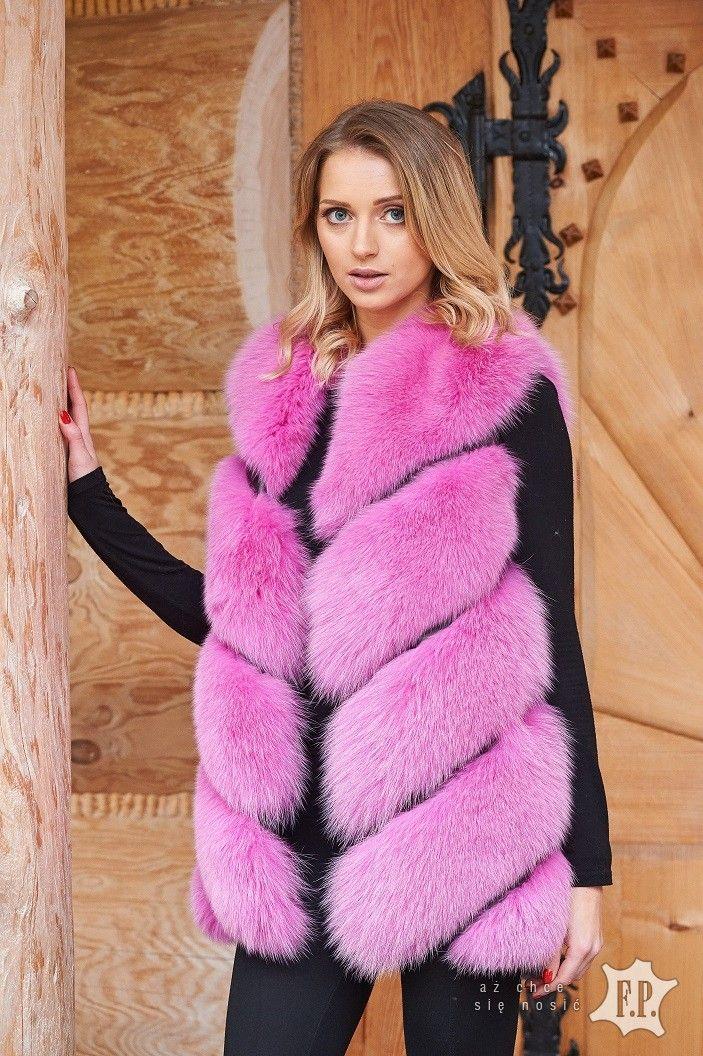 Futro Kamizelka Futrzana Damska F P Leather R L Sklep Fp Kozuchy Fashion Coat Fur Coat