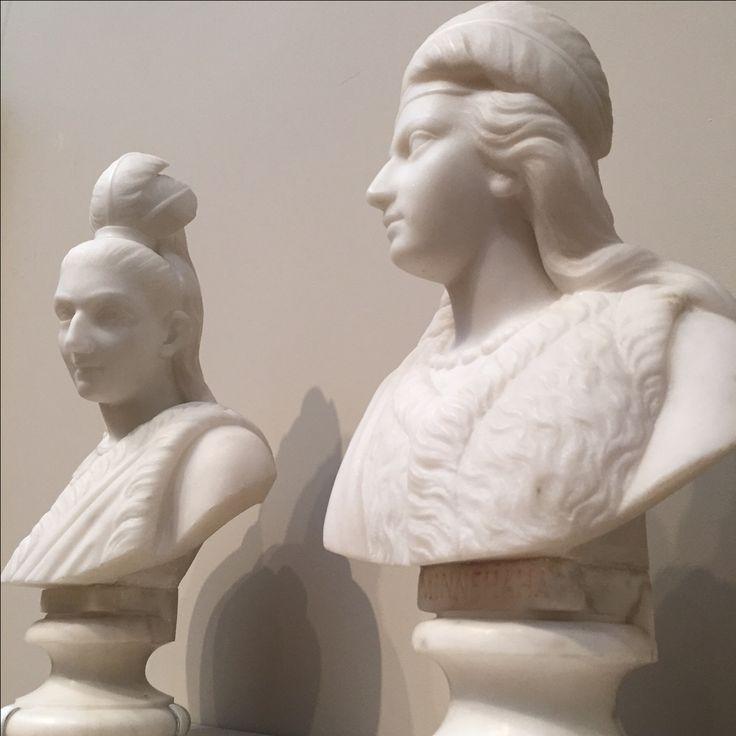 Minnehaha and Hiawatha by Edmonia Lewis at the Metropolitan Museum of Fine Arts NYC