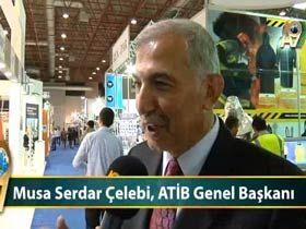 Musa Serdar Çelebi, ATİB Genel Başkanı Video