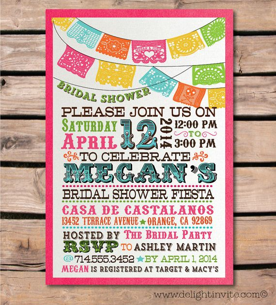 Hey, I found this really awesome Etsy listing at https://www.etsy.com/listing/181143038/fiesta-bridal-shower-invitation-envelope