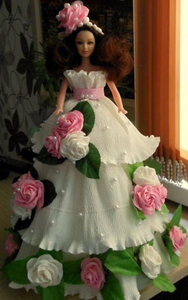 Волшебство креповой бумаги «Красивая роза» - Для воспитателей детских садов - Маам.ру