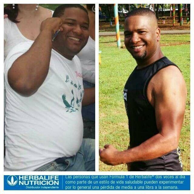 Resultados Herbalife Si te interesa bajar de peso tonificar o aumentar escribeme que yo te ayudare 849-253-3155.