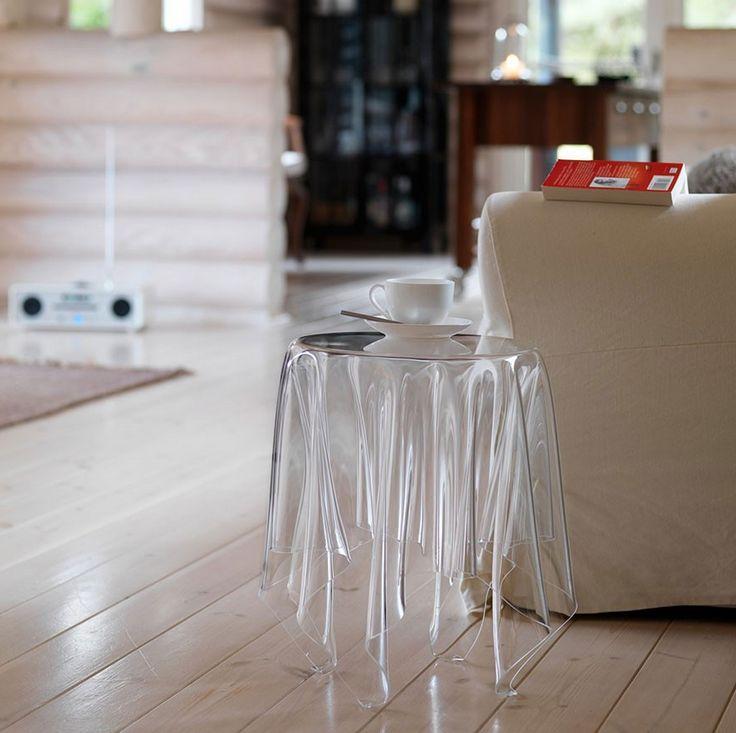Toalha de mesa flutuante?