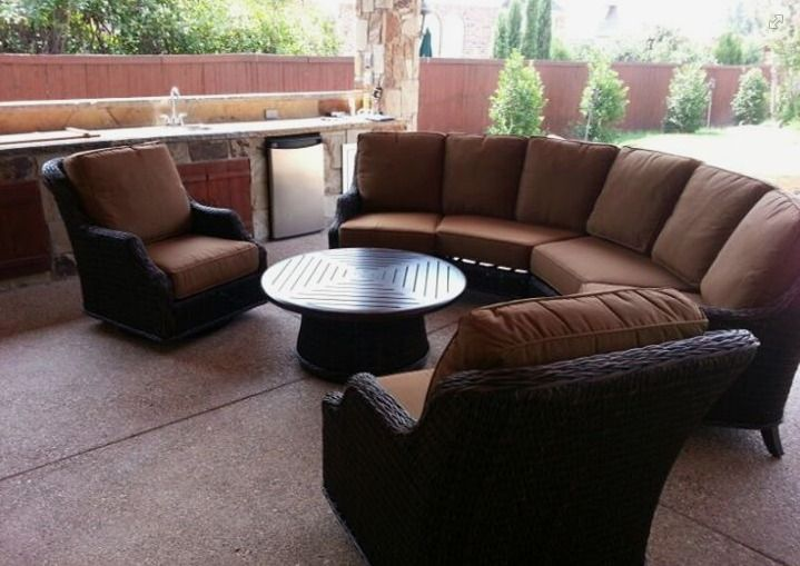 Monticello Deep Seating From Patio Renaissance Enjoy Your Outdoor Room   Yard  Art Patio U0026 Fireplace