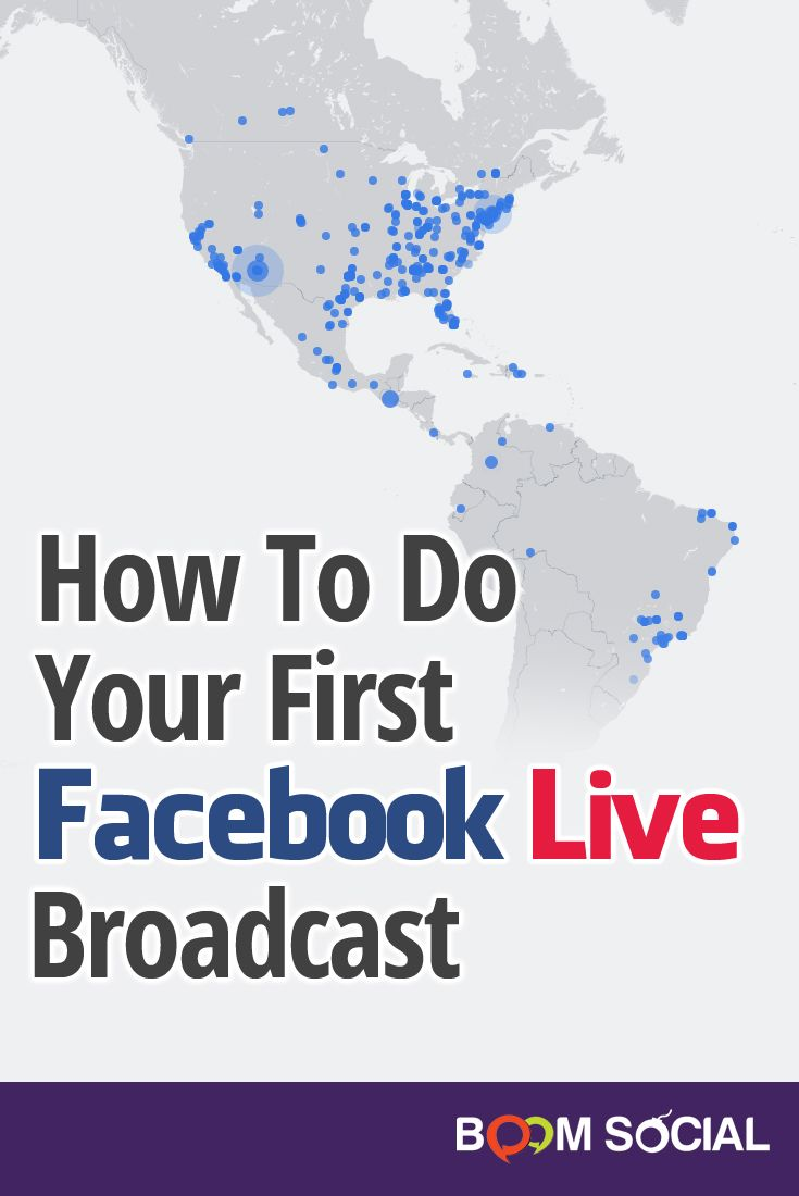 Getting your first Facebook Live broadcast under your belt can be a little nerve wracking. In this article, you'll learn exactly how to get started!