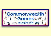 Printable resources and actvities for Glasgow 2014 Commonwealth games lessons.