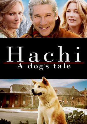 When his master dies, a loyal pooch named Hachiko keeps a regular vigil -- for more than a decade -- at the train station where he once greeted his owner every day in this touching drama based on a true story. Another must see movie currently available on NETFLIX.
