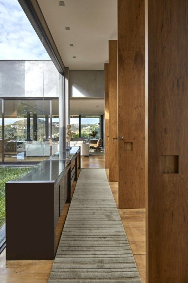 Exceptional Durchgang Moderne Häuser Innenarchitektur Good Ideas