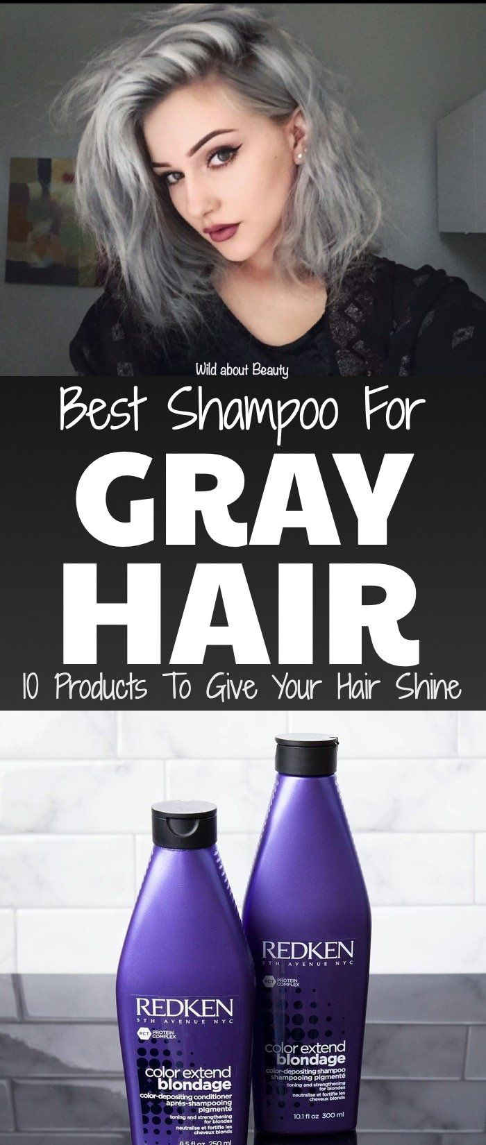 Best Shampoo For Gray Hair Shampoo For Gray Hair