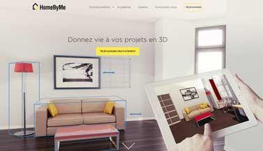 Logiciel plan maison gratuit personnalisable Home By Me