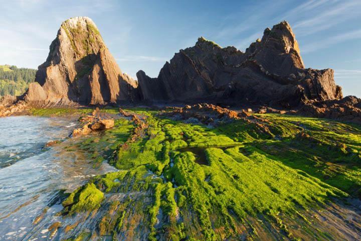 playa de saturrarán en mutriku