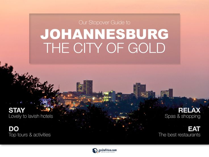 Go2Africa's City Guide to Johannesburg: The City of Gold is available for download with iBooks on your Mac or iOS device, and with iTunes on your computer.