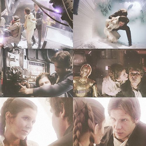 Han and Leia - The Empire Strikes Back