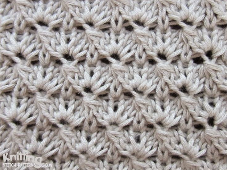 The Cluster stitch pattern is interesting to knit and to look at,without being too challenging to knit. It looks like a crochet pattern.