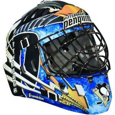 Franklin NHL Team SX Comp GFM 100 Youth Goalie Face Mask - Pittsburgh Penguins . $49.99