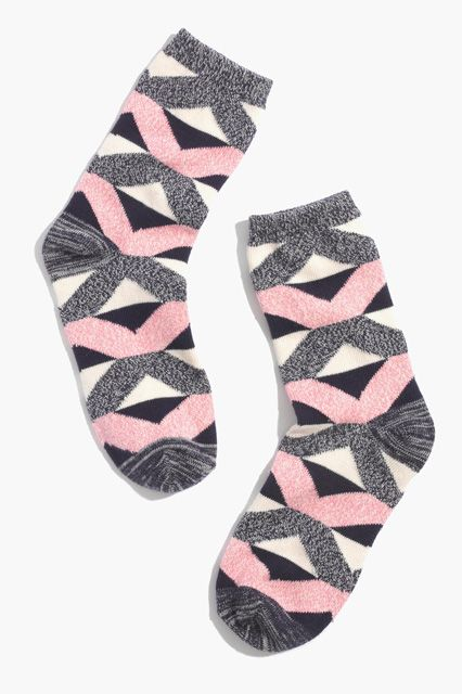 30 Funky Socks To Upgrade Your Footwear Style #refinery29  http://www.refinery29.com/cute-socks#slide12