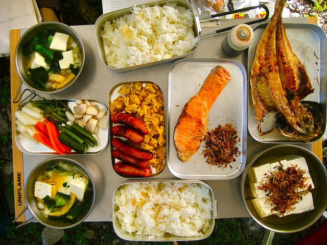 Japanese Breakfast for Camping!