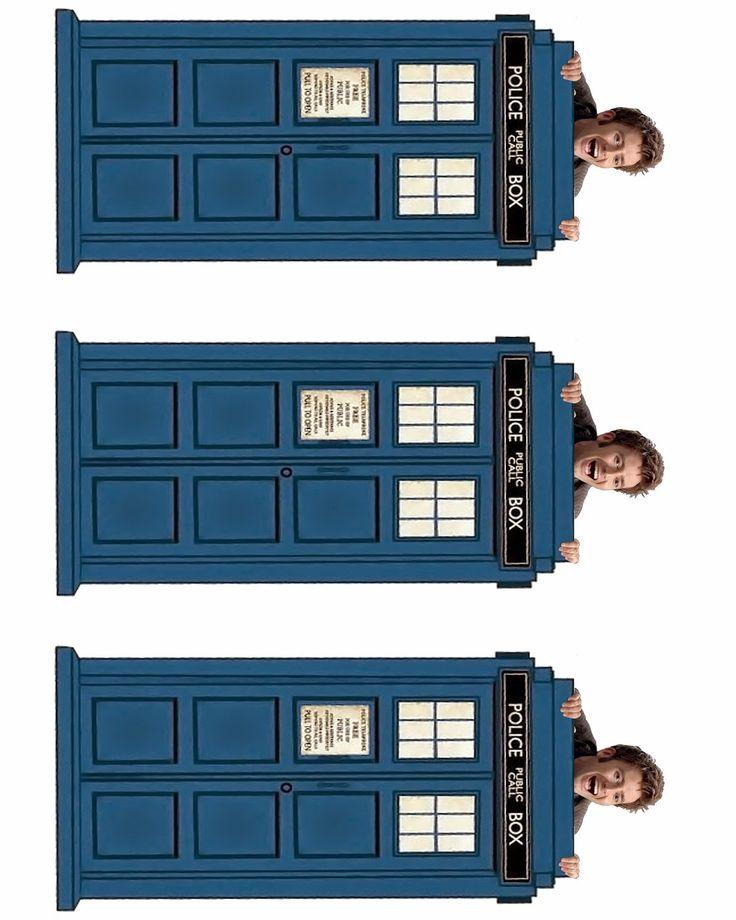 David Tennant Peeking Time Lord Bookmark--10th Day of Doctor Who! FREE Printable!