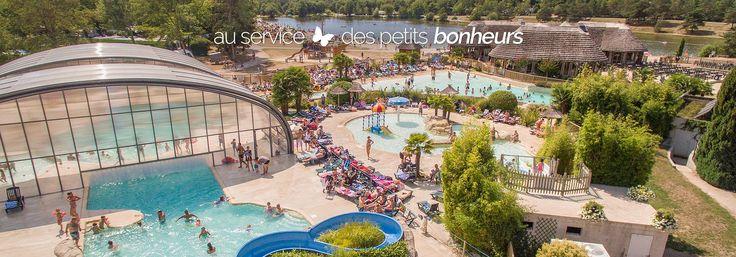 Camping Les Alicourts 5 étoiles en France & Glamping Vallée de la Loire