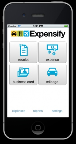 At iMysecy - we use expensify to claim your expenses in time..