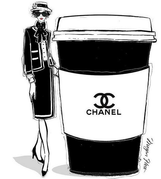 Coffee and glamour are essential.