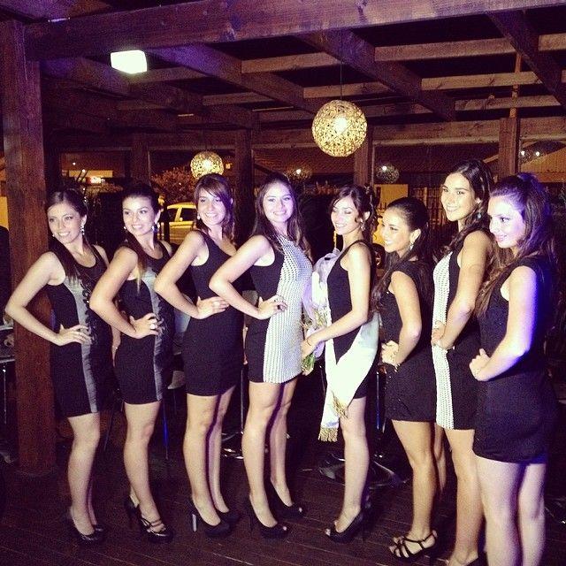 Candidatas a Reina de la Vendimia Curicó 2014