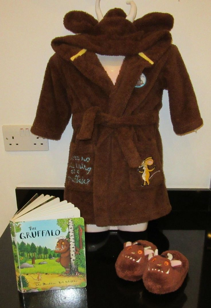 White apron marks and spencer - M S Marks And Spencer The Gruffalo Dressing Gown Slippers Book 1 5 To 2