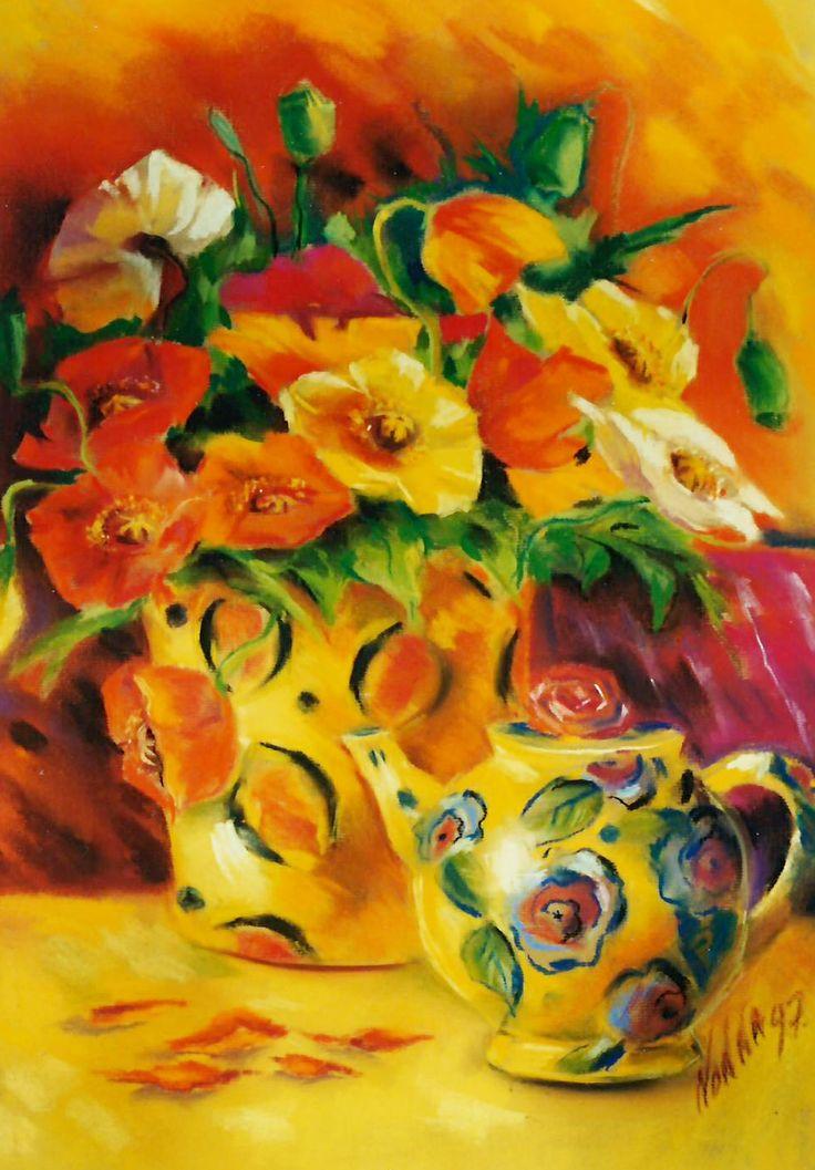 From the poppy flower