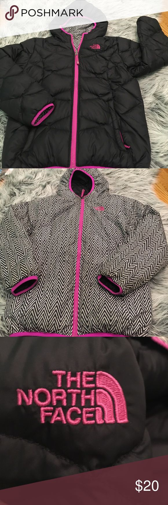 Girls north face jacket! Very good condition, reversible jacket... this is very warm and nice!! The North Face Jackets & Coats Puffers