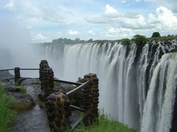 Victoria Falls, Zambia: Buckets Lists, Zambia Zimbabwe, Favorite Places, Zambiazimbabw, Beautiful Places, Victoria Falls, Travel, Fall Zambia, Largest Waterfal