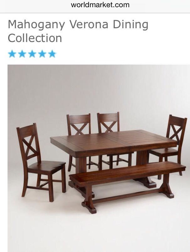 Furniture from World Cost Plus Market