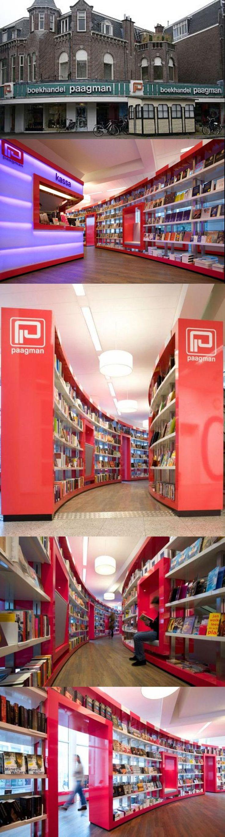 Bookstore - Paagman, Hague, Netherlands