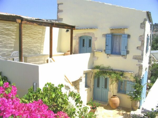 Chania House rental: The old wine press house