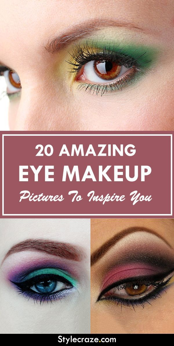 Eye makeup is a great way to make your eyes look more beautiful.So look at some of the great eye makeup pictures that will leave you wanting…