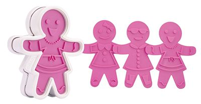 Tovolo 81-3811 Ginger Girl Cookie Cutter