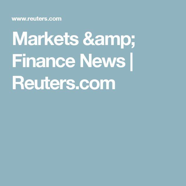 Markets & Finance News | Reuters.com