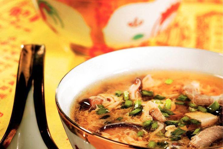 Kijk wat een lekker recept ik heb gevonden op Allerhande! Pekingsoep